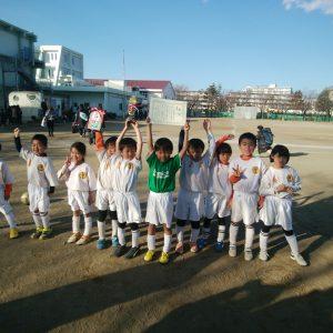 U-7 わんぱく1年生初優勝!! 第1回鶴が台 New star cup U-7大会