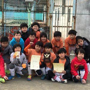 U-8 2年生準優勝!!寒川旭SCフレンドリー大会