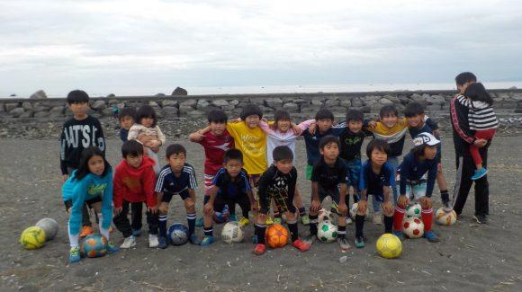 浜見平JSC 3年生 GWビーチサッカー&BBQ