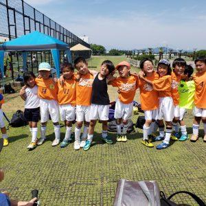 U-8 鶴嶺FC 交流試合