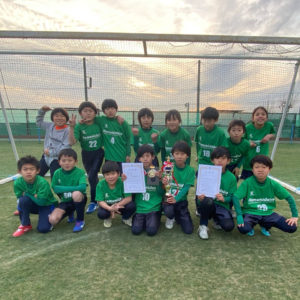 U-9 小山台SCグラスカップ 3位入賞!