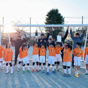 U-8 第9回芦子カップ 優勝!