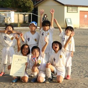 U-7 FC50.4CUP 3位入賞!!