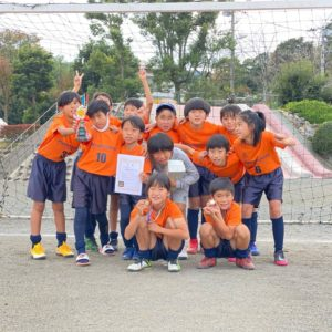 U-10 第4回中井カップサッカー大会 準優勝!