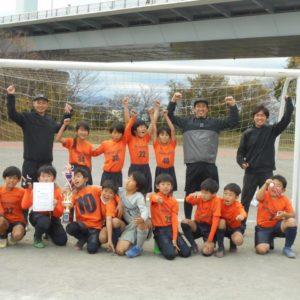 U-10 第13回鵠沼SC招待杯 優勝!